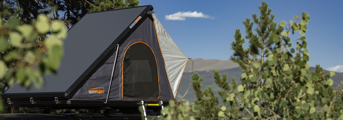 Roofnest Hard Shell Roof Top Tent